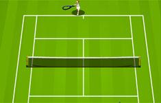 Flash игра. Tennis game.