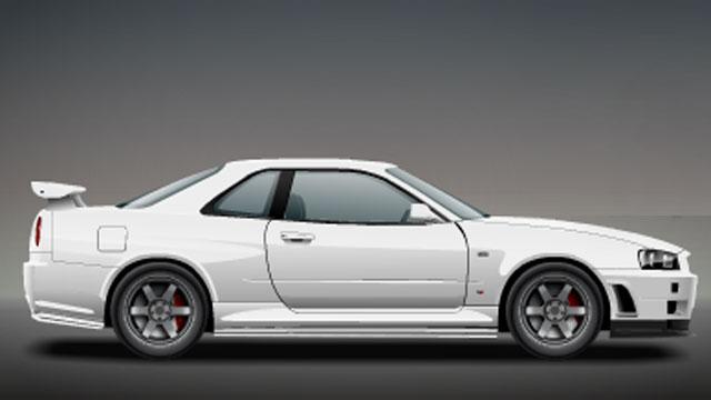 СтритРейсеры в контакте. Nissan Skyline GT-R R34 V-Spec: детали, КПП, обороты переключения.