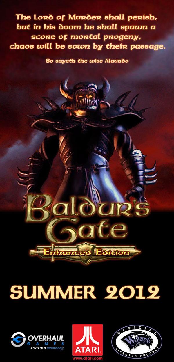 Baldur's Gate (и Baldur's Gate 2): Enhanced Edition - анонсировано переиздание.
