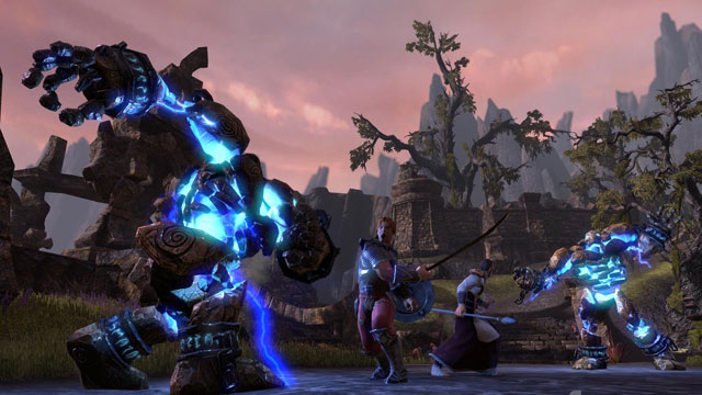 The Elder Scrolls Online (TES Online). Скриншот, трейлер.