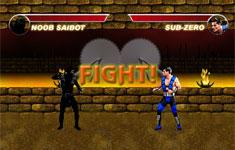 Flash-игра Mortal Combat Karnage