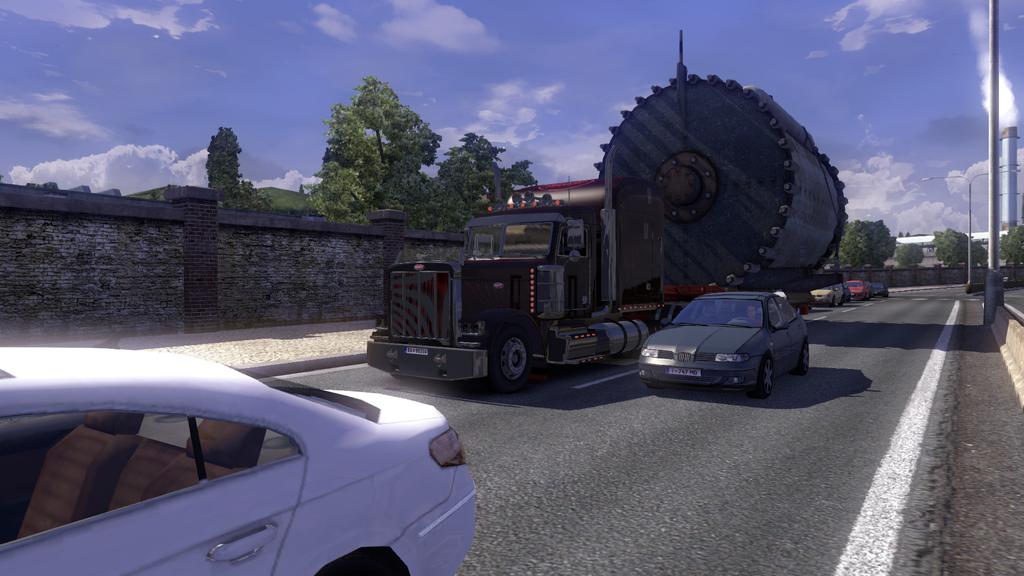 """Euro Truck Simulator 2 """"Негабаритные прицепы"""" - GoDGames.ru"""