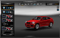 Euro Truck Simulator 2 легковой автомобиль BMW X6